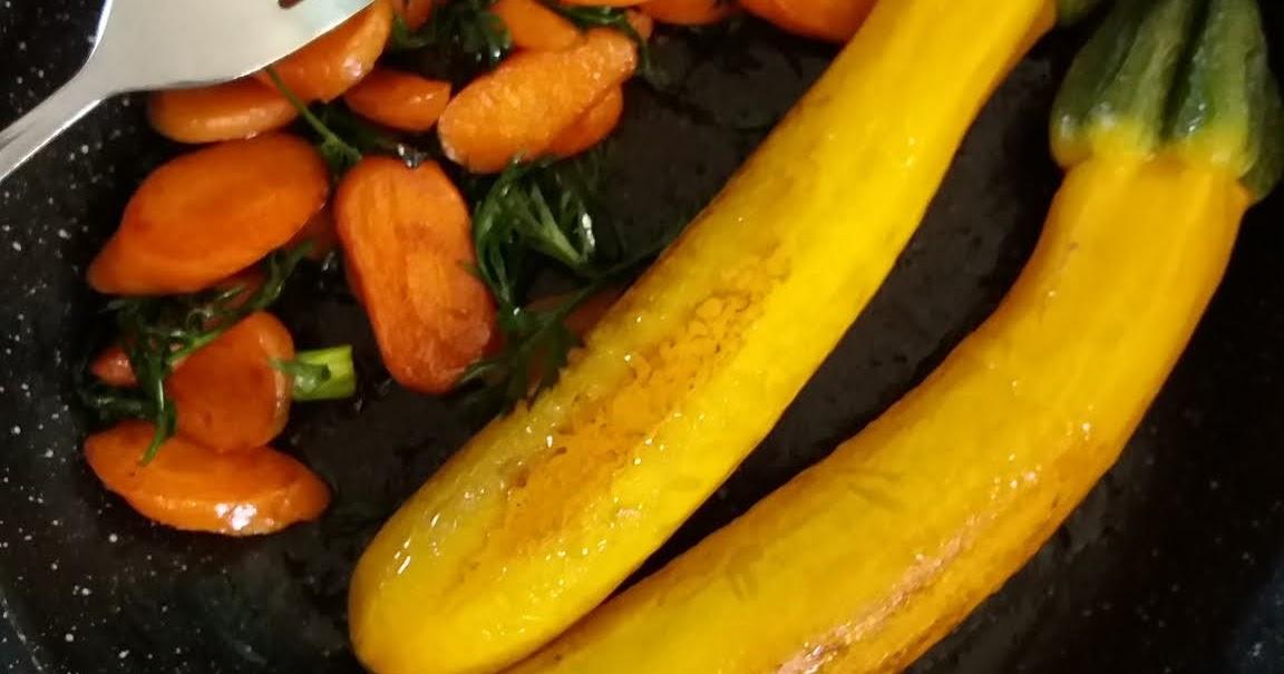 FloViCook: Courgettes jaunes&Jeunes carottes