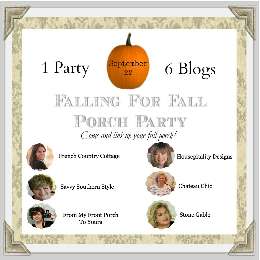 FRom My Front Porch To Yours- Fall Porch Party