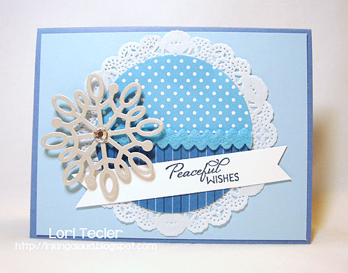 Peaceful Wishes-designed by Lori Tecler-Inking Aloud-stamps from Verve Stamps