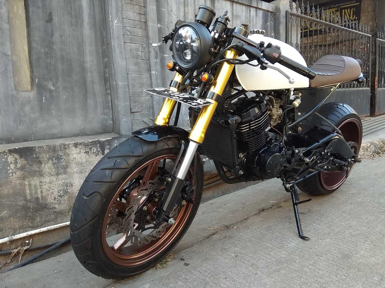 Yamaha Byson Modifikasi Caferacer