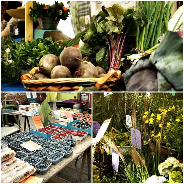Blog + Fotografie by it's me! - Bloggertreffen in Berlin - Obst, Gemüse, Pflanzen auf dem Winterfeldtmarkt Schöneberg