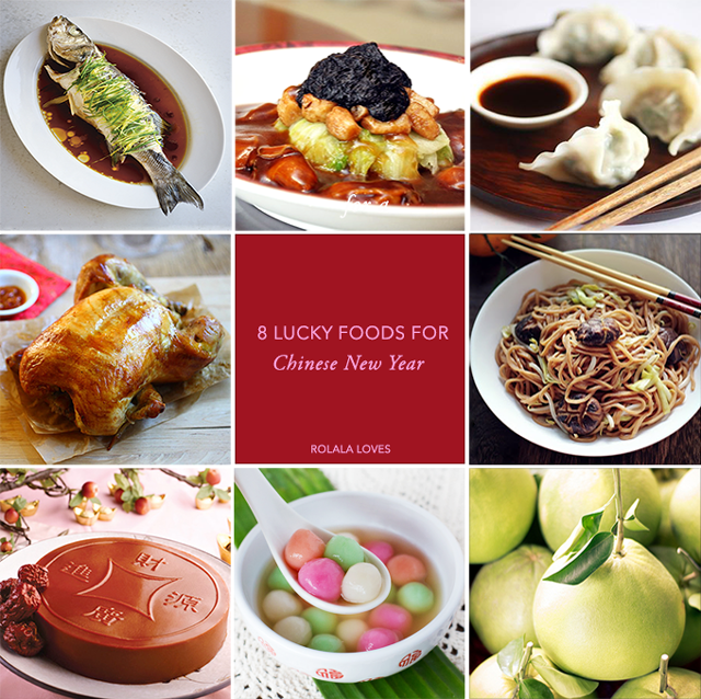 Chinese New Year, Chinese New Year Food, Lucky Food for Chinese New Year, Lucky Foods