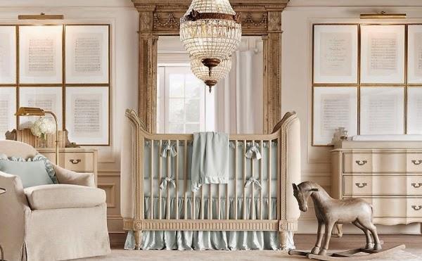 Dormitorio de lujo bebé