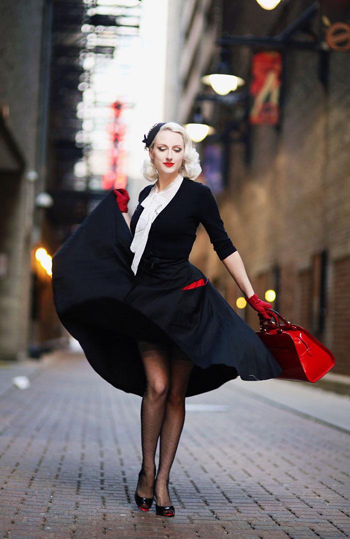 Black stockings christmas girl - 5 1