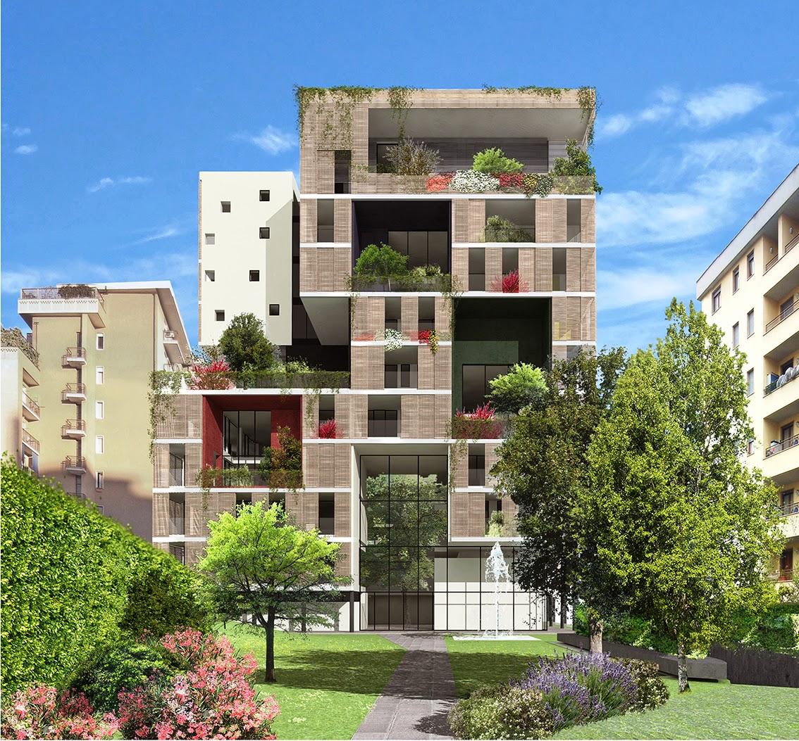 Urbanfile milano zona delle regioni via lomellina 12 for Palazzine moderne