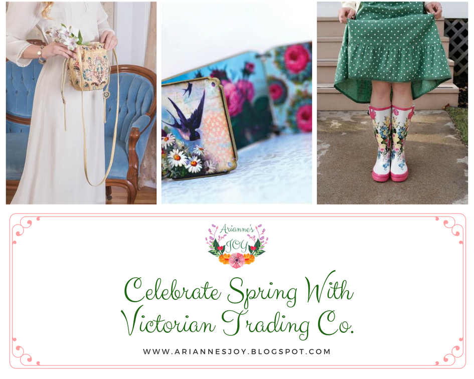 Arianne S Joys Celebrate Spring With Victorian Trading Co