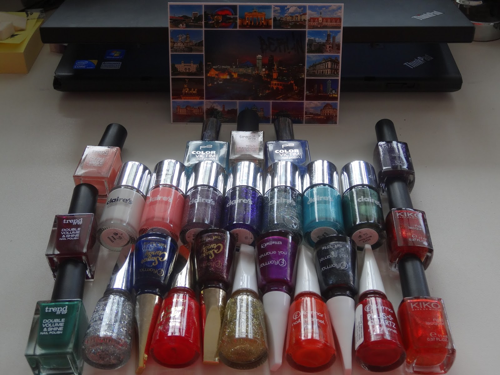 bd1f9fe618 I want to start with the claire's polishes. They still had the same deal  that I mentioned in my previous post (link above): Buy 3 Pay 2.