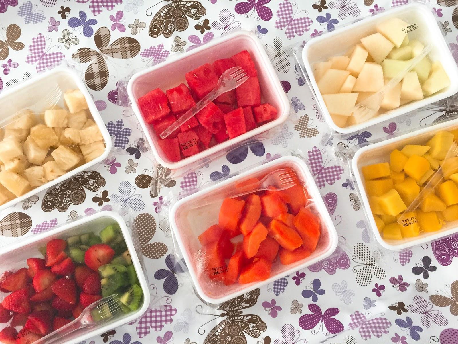 tropicado frutas ... frutas frescas, descascadas e sem desperdício Curitiba