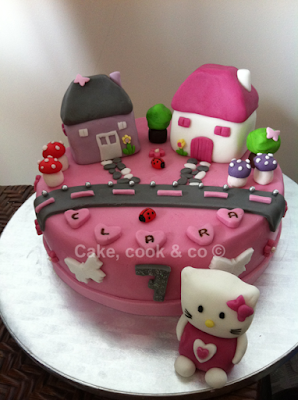 cake hello kitty village