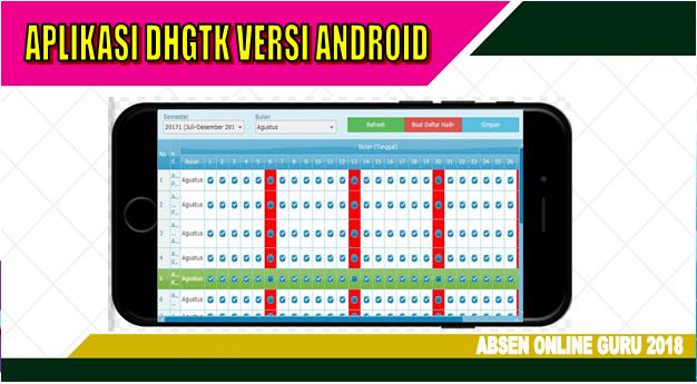 Cara cepat mengisi Absen Online Guru DHGTK 2018 menggunakan Android