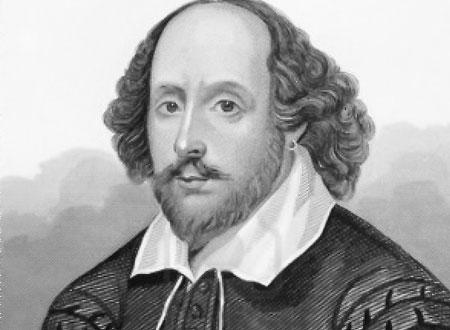 الكاتب والشاعر الأسطوري -  وليام شكسبير