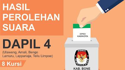 Ini Caleg Terpilih DPRD Kabupaten Bone Dapil 4 Hasil Rekapitulasi KPU