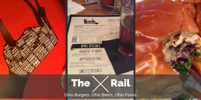 Ohio Burgers, Ohio Beers, @TheRailBurger is Ohio Proud