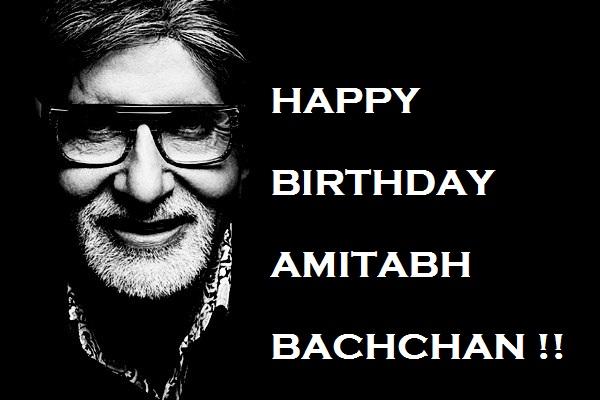 Happy Birthday Amitabh Bachchan Quotes