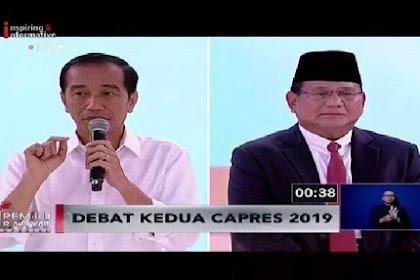 Terkait Kepemilikan Lahan, Jokowi Skakmat Prabowo