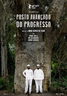 Posto Avançado do Progresso (2016) de Hugo Vieira da Silva