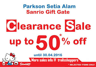 Sanrio Gift Gate Clearance Sales