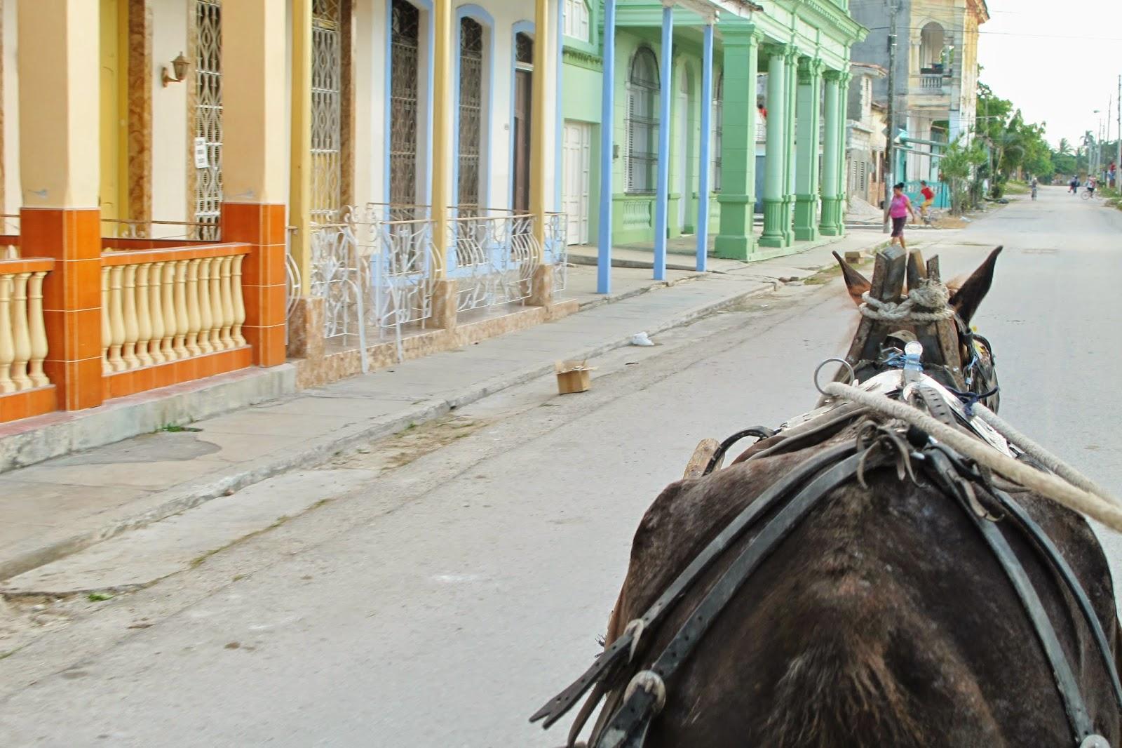Caibarién, próximo à Remedios, em Cuba.