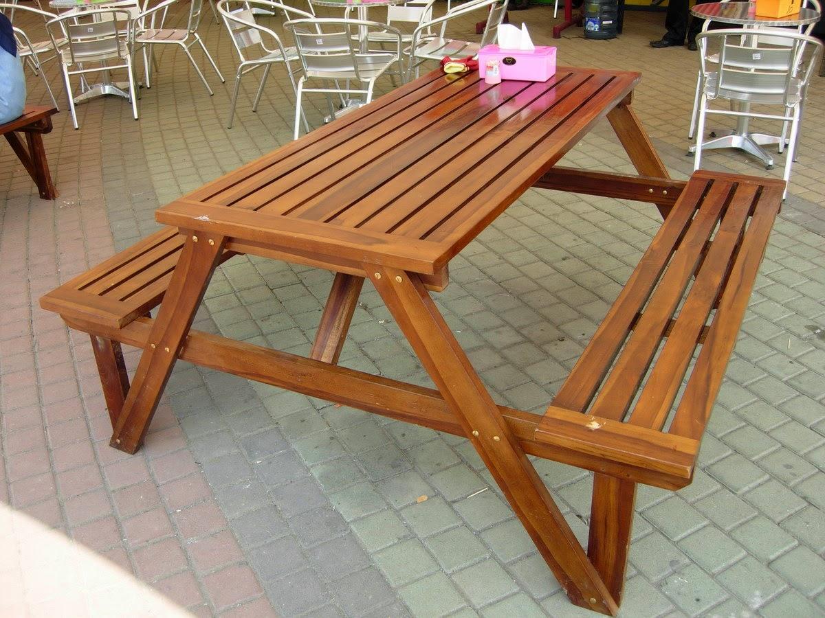 Bisnis membuat meja kursi taman minimalis kreatif