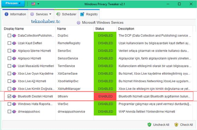 Windows 10 Bluetooth Dosya Aktarım Sorunu