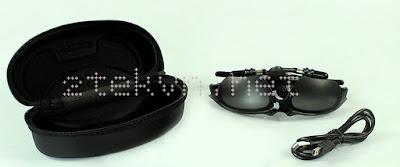 Mắt kính kiêm tai nghe Bluetooth