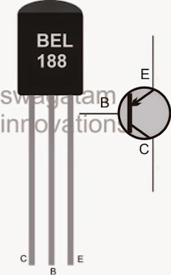BEL 188 transistor pinout base emitter collector