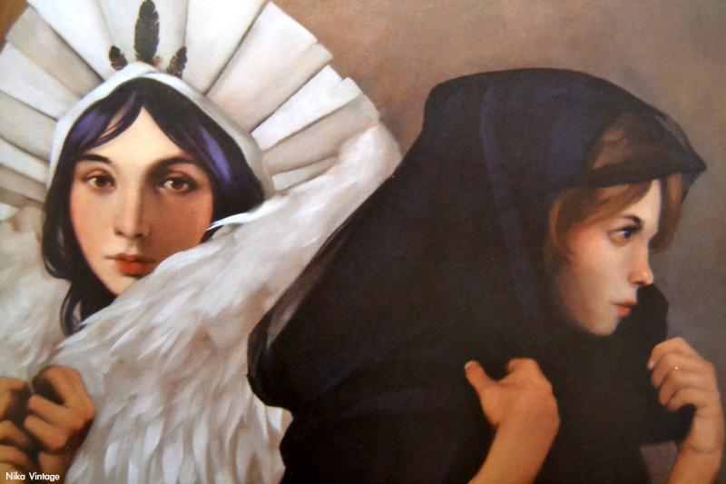 Les petites sorcieres, Carles Gomila, arte, cuadro, obra, pintura