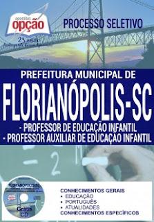 apostila Processo Seletivo da Prefeitura de Florianópolis 2016