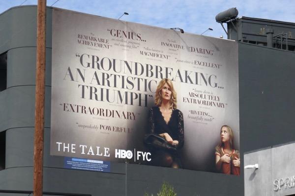 The Tale HBO 2018 FYC billboard