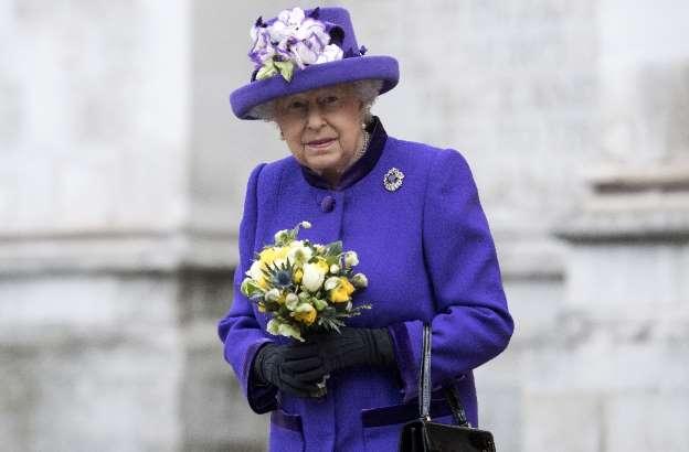 Queen Elizabeth II appears in public after heavy cold