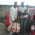 Father of four year old boy whose eyes were plucked out in Kaduna gets a car gift from a good Nigerian
