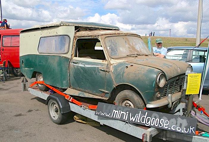 Mini wildgoose camper for sale