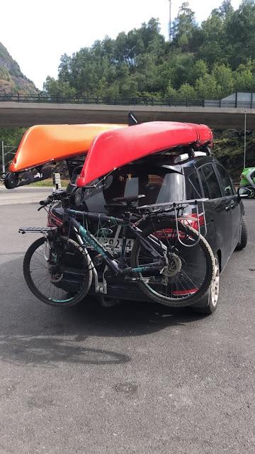 Transport av sykkel på bil