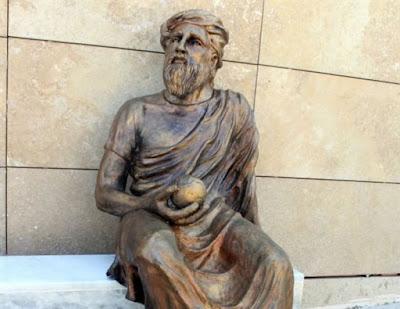 Άγαλμα του Αναξαγόρα ή τούρκου ποιητή; Και τα δύο σε ένα, διάλεξε τουρκικός δήμος...