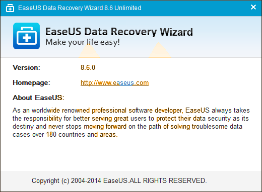 EaseUS Data Recovery Wizard 8.6