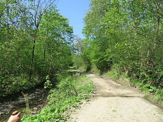 Dawna wiejska droga.