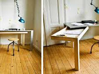 4 Wooden Floor Laminate for Impressive Home Office Desk Design