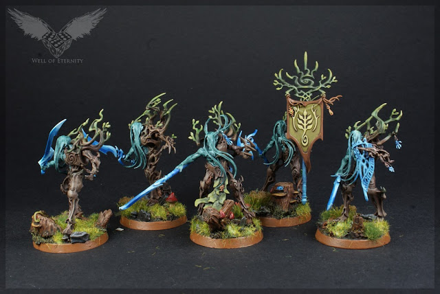 warhammer age of sigmar tree revenants painted 4