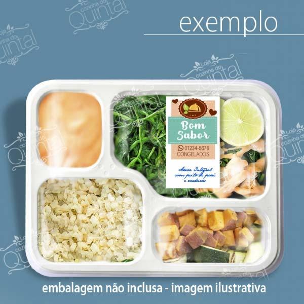Adquira as etiquetas personalizadas para o seu negócio de comidas na Loja da Cozinha do Quintal