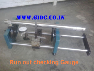 Run out checking Gauge