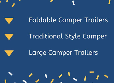 Different Types  Camper Trailers and Features