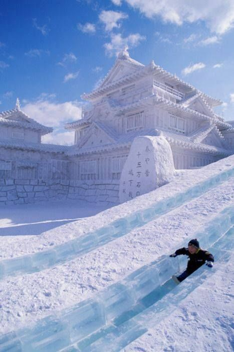 Five Places to See Snowfall in this Winter | Sapporo, Japan (during snow festival)