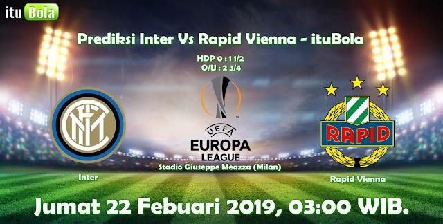 Prediksi Inter Vs Rapid Vienna - ituBola