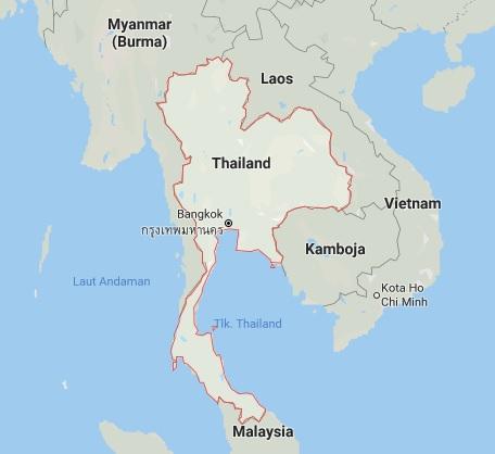 Batas Wilayah Negara Thailand