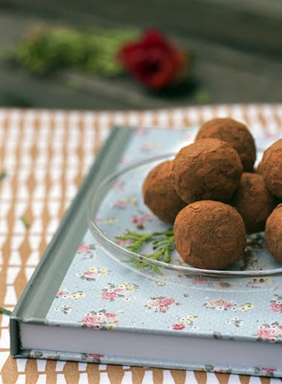 Trufas De Chocolate Y Azahar