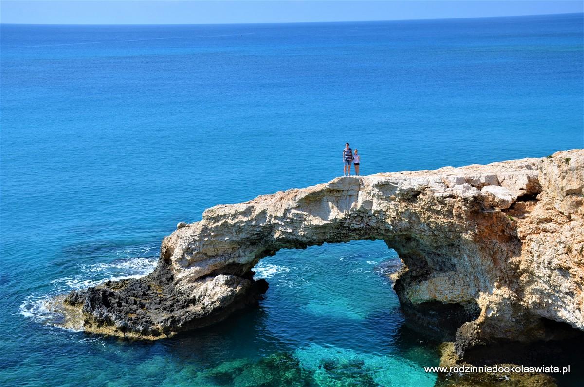 Cypr z dziećmi- Cape Greco, Most Miłości i Nissi Beach