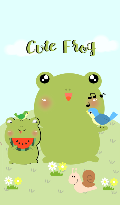 Little Cute Frog Theme