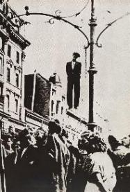 Partisan hanging in Belgrade, 17 August 1941 worldwartwo.filminspector.com