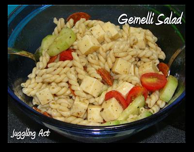 Juggling Act Mama: Gemelli Pasta Salad