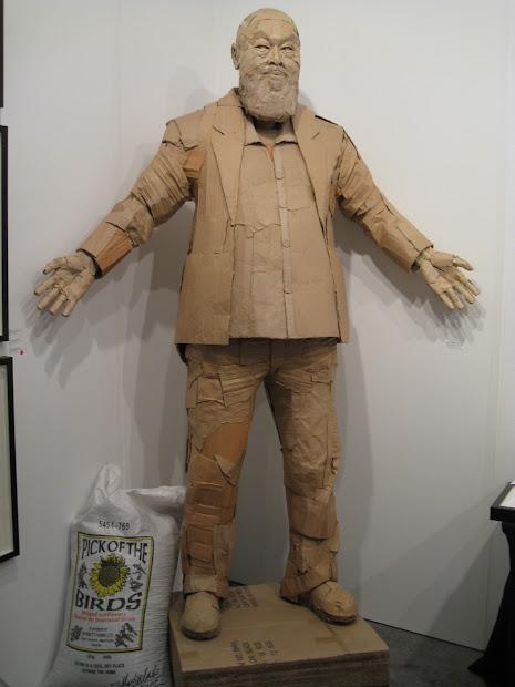 Ai Weiwei Sculpture Cardboard